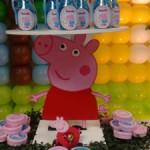 Latinhas e Potinhos Festa Peppa Pig da Isabella