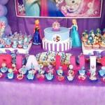 Doces Festa Frozen da Maria Luisa