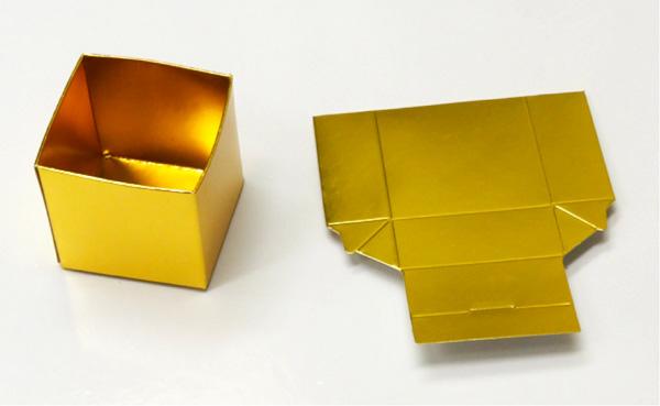 Caixinha Dourada para Natal - PAP