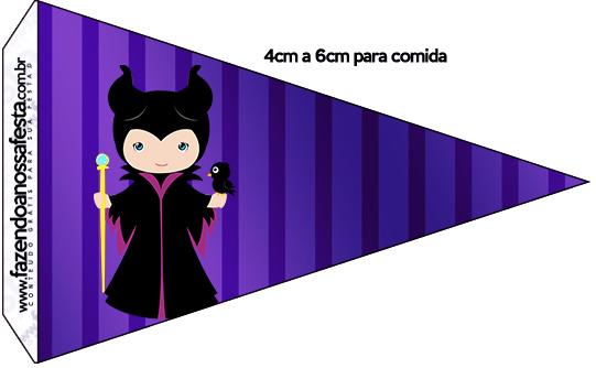 Bandeirinha Malévola 9