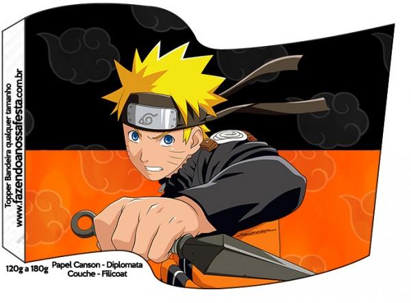 Bandeirinha Sanduiche 1 Naruto