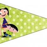 Bandeirinha Sanduiche 4 Show da Luna para Meninos