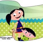Bandeirinha Sanduiche Show da Luna para Meninos 2