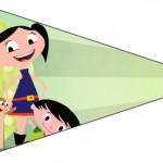 Bandeirinha Varalzinho 8 Show da Luna
