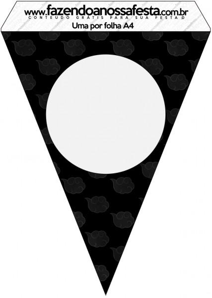 Bandeirinha Varalzinho Fundo Naruto