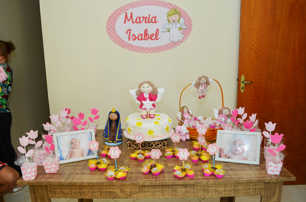 Festa Batizado Anjinha Menina