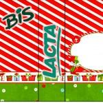 Bis Duplo Fundo Natal Vermelho e Verde