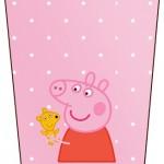 Bisnaga Brigadeiro Peppa Pig e Teddy