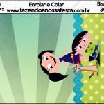Bisnaga Brigadeiro Show da Luna para Meninos