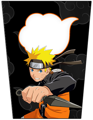 Bisnaga Flip Top Naruto