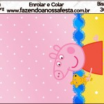 Bisnaga Flip Top Peppa Pig e Teddy