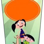 Bisnaga Flip Top Show da Luna para Meninos
