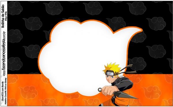 Bolinha de Sabão Naruto