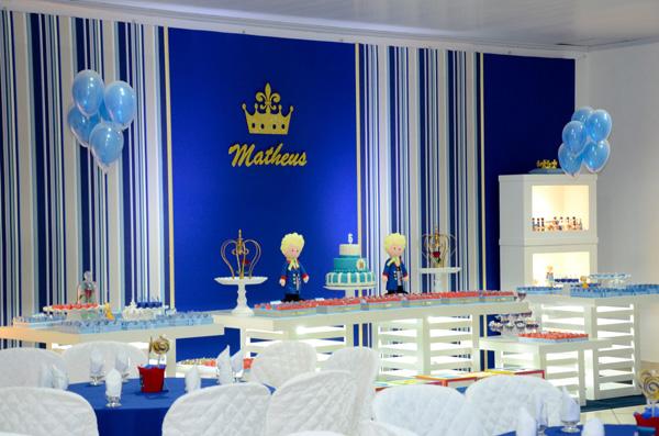 Decoração Festa Pequeno Príncipe Matheus