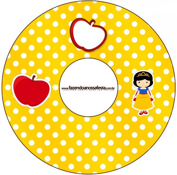 CD DVD Branca de Neve Cute