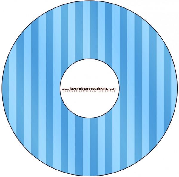 CD DVD Fundo Azul e Verde