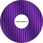 CD DVD Fundo Roxo