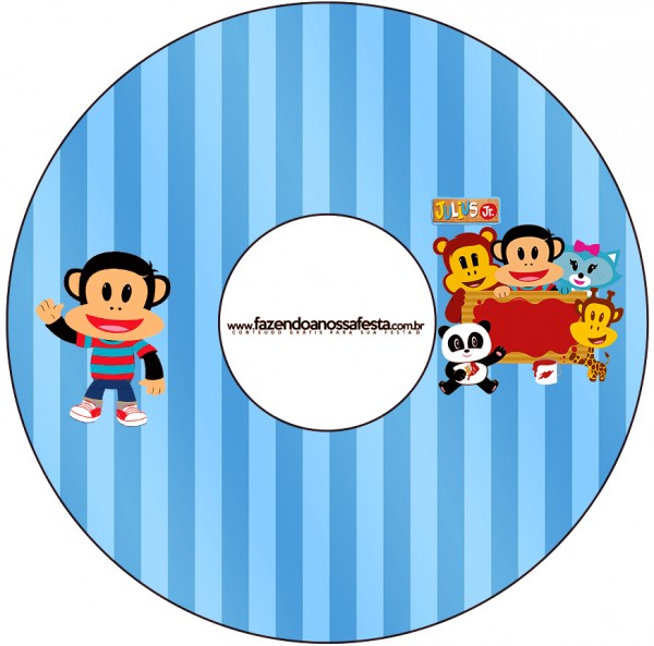 CD DVD Julius Jr