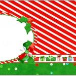 Caixa Bombom Fundo Natal Vermelho e Verde 2