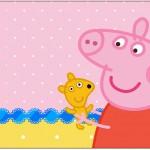 Caixa Bombom Peppa Pig e TeddyCaixa Bombom Peppa Pig e Teddy