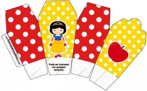 Caixa China in Box Branca de Neve Cute