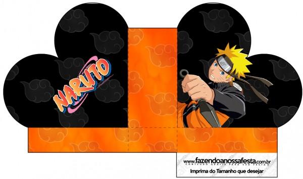 Caixa Coração Naruto