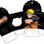 Caixa Cupcake Naruto