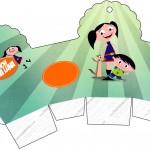 Caixa Cupcake Show da Luna para Meninos