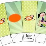 Caixa Pipoca Show da Luna para Meninos