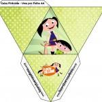 Caixa Pirâmide Show da Luna para Meninos