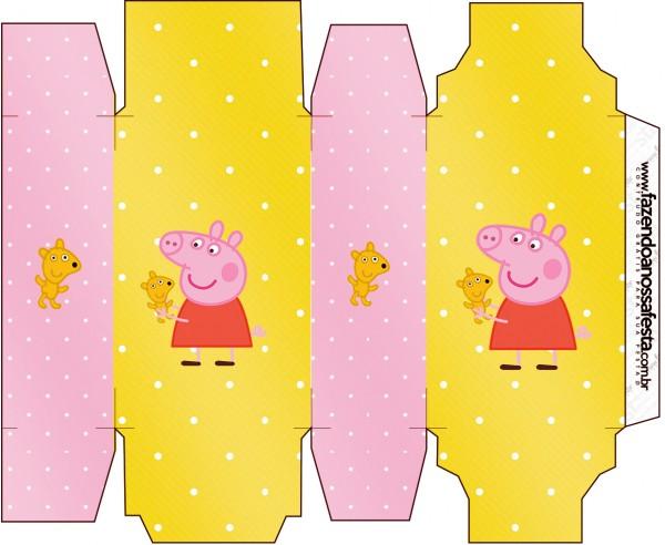 Caixa Sabonete Peppa Pig e Teddy