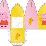 Caixa com Foto 2 Peppa Pig e Teddy