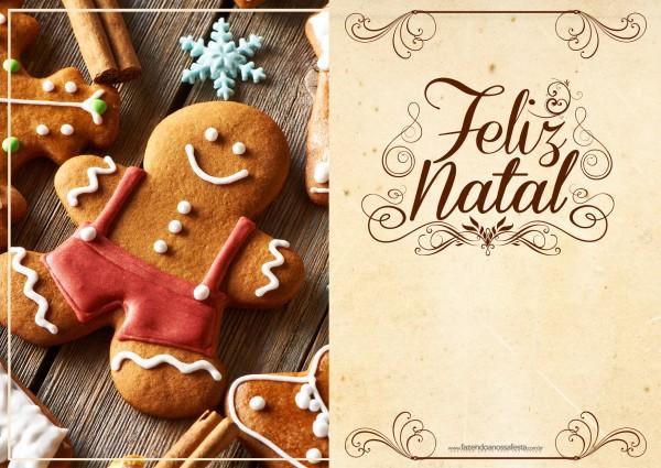 Cartão de Natal - Fazendo a Nossa Festa 1