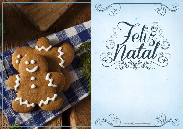 Cartão de Natal - Fazendo a Nossa Festa 2