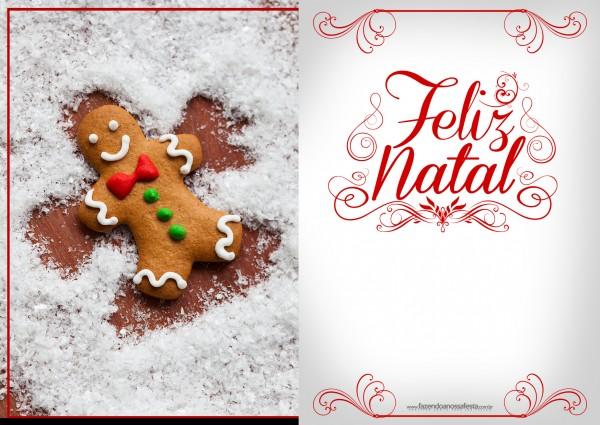Cartão de Natal - Fazendo a Nossa Festa 3
