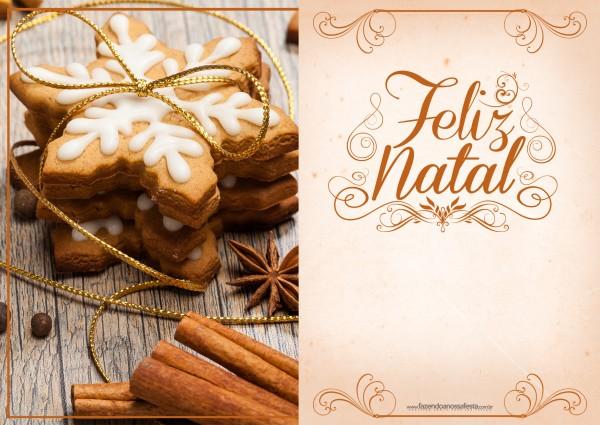 Cartão de Natal - Fazendo a Nossa Festa 9