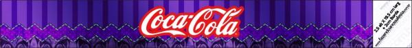 Coca-cola Fundo Roxo