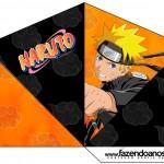 Cone Guloseimas 4 lados Naruto