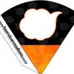 Cone Guloseimas Fundo Naruto