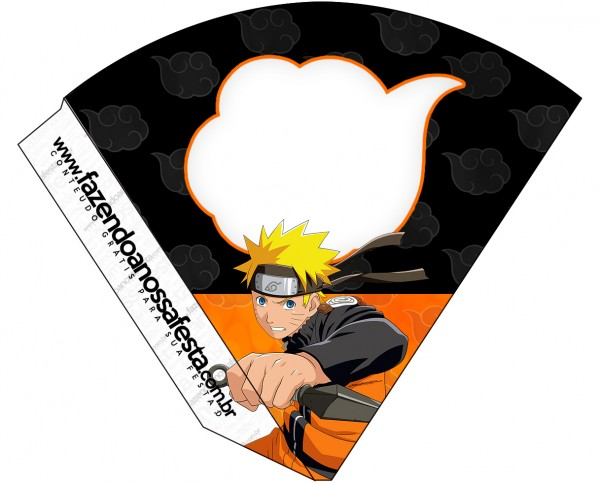 Cone Guloseimas Naruto