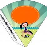 Cone Guloseimas Show da Luna para Meninos