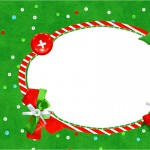 Convite 2 Fundo Natal Vermelho e Verde