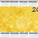 Convite Calendário 2014 Fundo Ano Novo