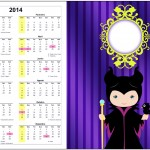 Convite Calendário 2014 Malévola