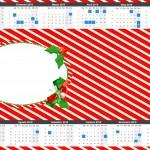 Convite Calendário 2015 2 Fundo Natal Vermelho e Verde