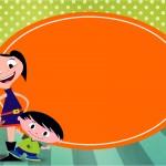 Convite, Cartão Show da Luna para Meninos