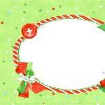 Convite Fundo Natal Verde e Branco