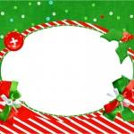 Convite Fundo Natal Vermelho e Verde