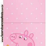 Convite Pirulito Peppa Pig e Teddy