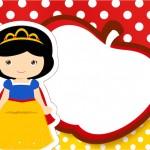 Branca de Neve Cute – Kit Festa Infantil!